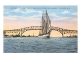 Schooner  Bridge  Port Huron  Michigan