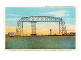 Aerial Bridge  Duluth Harbor  Michigan