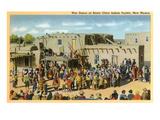 Santa Clara War Dance  New Mexico