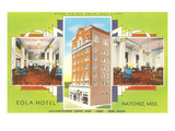 Eola Hotel  Natchez  Mississippi