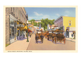 Main Street  Mackinac Island  Michigan