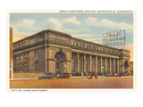 Great Northern Station  Minneapolis  Minnesota