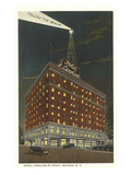 Hotel Carolina by Night  Raleigh  North Carolina
