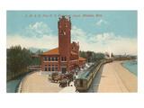 Train Station  Missoula  Montana