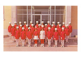 Girls Marching Majorettes