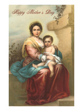 Happy Mother's Day  Murillo Madonna and Child