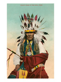 Yellow Horse  Ponca Indian