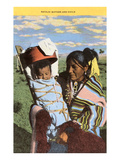 Navajo Mother with Papoose