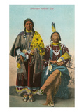 Ute Chief and Squaw