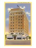 Forrest Hotel  Hattiesburg  Mississippi