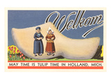 Welkom  Tulip Time  Holland  Michigan