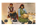 San Ildefonso Pottery Makers  New Mexico