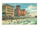 Hotels on Boardwalk  Atlantic City  New Jersey