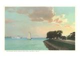 Shore Drive  Belle Isle  Detroit  Michigan