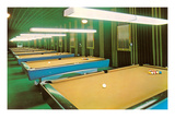 Empty Pool Parlor  Retro