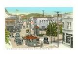 Border at Nogales in the Twenties