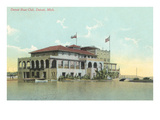 Boat Club  Detroit  Michigan