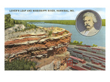 Lovers Leap  Hannibal  Missouri