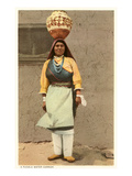 Pueblo Indian Water Carrier