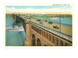 Eads Bridge  St Louis  Missouri