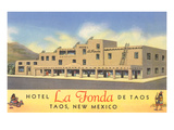 Hotel La Fonda in Taos  New Mexico