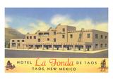 Hotel La Fonda in Taos  New Mexico