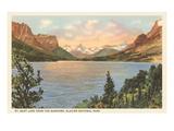 St Mary Lake  Glacier Park  Montana