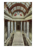Stairway of Capitol  St Paul  Minnesota