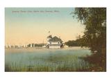 Yacht Club  Belle Isle  Detroit  Michigan