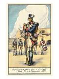 Corporal  Fort Ticonderoga