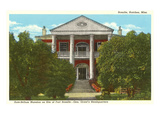 Antebellum Mansion  Ft Rosalie  Natchez  Mississippi