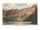 Avalanche Basin  Glacier Park  Montana