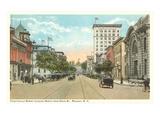 Fayetteville Street  Raleigh  North Carolina