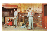 Carpet Cleaning in Fifties Den