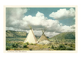 Apache Tepees in New Mexico