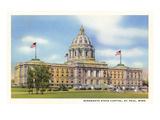 State Capitol  St Paul  Minnesota