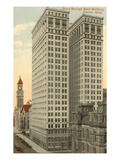 Dime Savings Bank Building  Detroit  Michigan