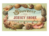 Souvenir from Jersey Shore  New Jersey