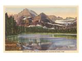 Josephine Lake  Glacier Park  Montana