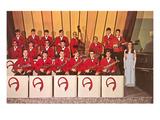 High School Dance Band  Retro