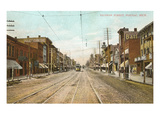 Saginaw Street  Pontiac  Michigan