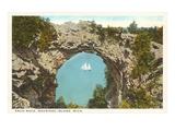 Arch Rock  Mackinac Island  Michigan
