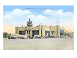 Municipal Airport  Detroit  Michigan