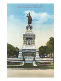 Statue of Cuauhtemoc  Mexico City