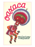 Poster for Oaxaca  Mexico  Folkloric Dancer