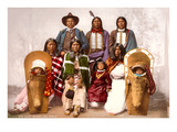 Ute Indians  Chief Sevara and Family