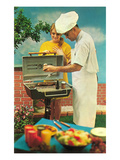 Barbecue  Retro