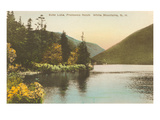 Echo Lake  Franconia Notch  New Hampshire