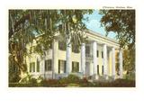 D'Evereux Mansion  Natchez  Mississippi