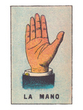 Mexican Fortune Telling Card  Hand